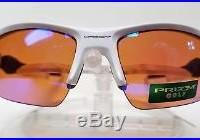 New Oakley FLAK 2.0 Prizm Golf Lenses Sunglasses, Polished White 009295-06