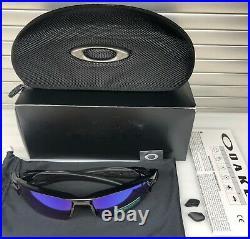 New Oakley FLAK 2.0 XL Sunglasses OO9188-05 Polished Black / Prizm Golf
