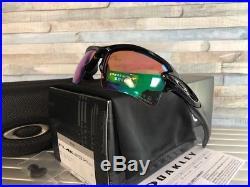 New Oakley FLAK 2.0 XL Sunglasses OO9188-05 Polished Black/ Prizm Golf Lenses
