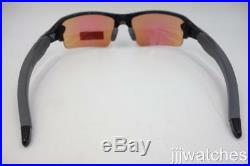 New Oakley Flak 2.0 Polished Black Ink PRIZM Golf Asian Fit Sunglasses OO9271-05