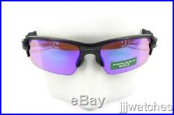 New Oakley Flak 2.0 Polished Black PRIZM Golf Sunglasses Asia Fit OO9271 09 $173