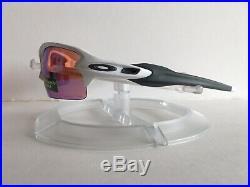 New! Oakley Flak 2.0 Sunglasses Polished White Prizm Golf OO9295-06