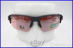 New Oakley Flak 2.0 XL Matte Black PRIZM Dark Golf Sunglasses OO9188 90-59 $173