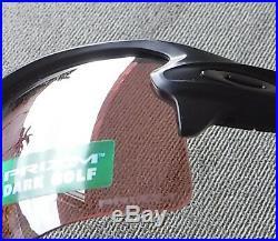 New Oakley Flak 2.0 XL Sunglasses Matte Black / Prizm Dark Golf Lens 9188-9059