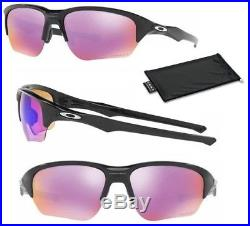 dd2f958532 New Oakley Flak Beta Prizm Golf Sunglasses Polished Black Frame Free  Shipping