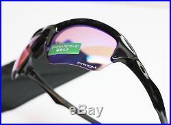 New Oakley Flak Beta Prizm Golf Sunglasses Polished Black Frame Free Shipping