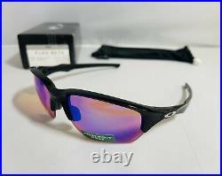New Oakley Flak Beta Sunglasses Polished Black Frame With Prizm Golf Lenses