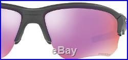 New Oakley Flak Draft Prizm Golf Sunglasses Black Steel Frame Free Shipping