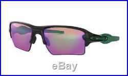 New Oakley Flak Jacket 2.0 XL PRIZM Sunglasses Black/PRIZM GOLF OO9188-7059