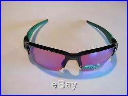 New Oakley Flak Jacket 2.0 XL Sunglasses Polished Black Prizm Golf OO9188-7059