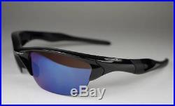 New Oakley Half Jacket 2.0 Polarized Sunglasses Polished Black/G30 Golf $220