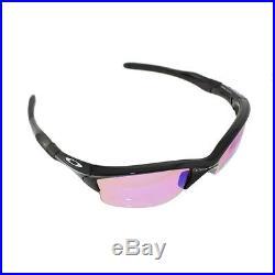 New Oakley Half Jacket 2.0XL Polished Black withPrizm Golf Lens Sunglass 009154-49