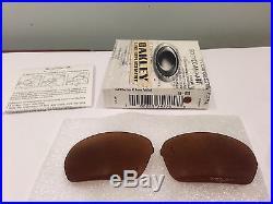 New Oakley Half X Replacement Lens Bronze Polarized, 16-878, Authentic Oakley