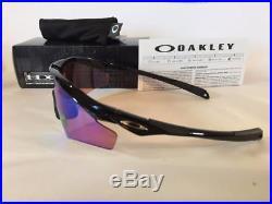 New Oakley M2 XL Frame Sunglasses Black/Prizm Golf Shield Asian Fit 009345-07