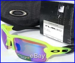 New Oakley PRIZM Flak Jacket 2.0 XL Sunglasses URANIUM/PRIZM Golf OO9188-11