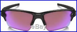 New Oakley Polarized Flak Jacket 2.0 XL Sunglasses. Oo9188-05 Golf Prizm