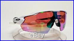 New Oakley RADAR EV PITCH Prizm Golf Sunglasses, Polished White 009211-05