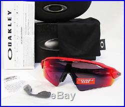 New Oakley Radar EV Path Asia Fit Redline / Prizm Golf Sunglasses OO9275-13