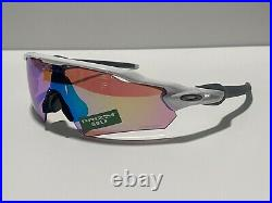 New! Oakley Radar EV Polished White Prizm Golf OO9275-12 Sunglasses