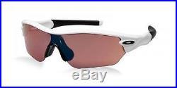 New Oakley Radar Edge Sunglasses White/G30 Women
