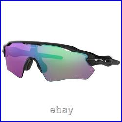 New Oakley Radar Ev Path Sunglasses Polished Black Prizm Golf