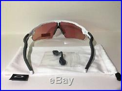 New! Oakley Radar Ev Pitch Sunglasses Polished White Prizm Golf OO9211-05