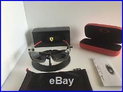 New Oakley Scuderia Ferrari Collection Polarized Tincan OO4082-09 Free Shipping