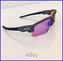 New! Oakley Steel FLAK DRAFT PRIZM GOLF Sunglasses OO9364-0467 NIB