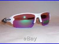New Oakley Sunglasses FLAK 2.0 OO9295-06 WHITE/PRIZM GOLF AUTHENTIC 9295