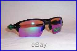 New Oakley Sunglasses FLAK 2.0 XL OO9188-70 BLACK/PRIZM GOLF AUTHENTIC 9188