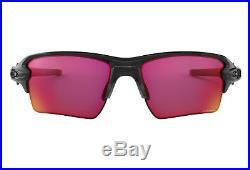 New Oakley Sunglasses Flak 2.0 XL Golf Baseball Prizm Field Polished Black