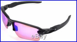 New Oakley Sunglasses Flak 2.0 XL Plsh Black withPrizm Golf #9188-05 New In box