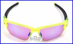 New Oakley Sunglasses Flak 2.0 XL Uranium withPrizm Golf #9188-11 New In Box