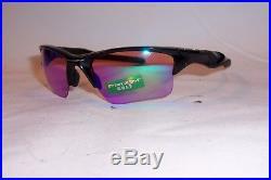 New Oakley Sunglasses HALF JACKET 2.0 XL OO9154-49 BLACK/PRIZM GOLF 9154