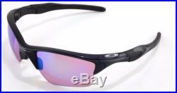 New Oakley Sunglasses Half Jacket 2.0 XL Polished Black withPrizm Golf #9154-49