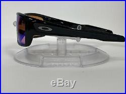 New! Oakley Turbine Sunglasses Polished Black Prizm Golf OO9263-30