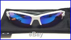 New Oakley Unisex FLAK 2.0 PRIZM GOLF Sunglasses Polished White 9271-10 (Asia)