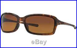 ed605b8deac New Oakley Women Sunglasses OO9233-06 DISPUTE Tortoise Brown Gradient  Polarized