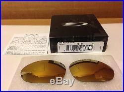 New Oakley XX X-metal Replacement 24K IRIDIUM 16-821, Authentic Oakley lens