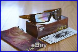 New RARE LIMTED EDITION Oakley 3D GasCan Tintin Rootbeer withHDO-3D OO9143-05