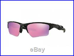 New Sunglasses OAKLEY HALF JACKET 9154-49 Polished Black / Prizm Golf Lens