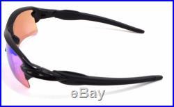 New in Box Oakley Sunglasses Flak 2.0 XL Polished Black Prizm Golf OO9188-05
