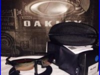 New mens Oakley sunglasses FLAK JACKET polished black withvr28 black irid 009112