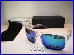 Nuovo Oakley Holbrook Occhiali da Sole Zaffiro Foschia/Prizm Iridio OO9102-G55