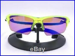 OAKLEY FLAK 2.0 XL Sunglasses OO9188-11 Neon Uranium Frame With PRIZM GOLF LENS