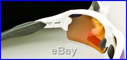 OAKLEY FLAK JACKET 2.0 SUNGLASSES Polished White-Prizm Golf OO9295-06 AUTHENTIC