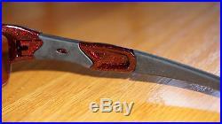 OAKLEY FLAK JACKET ASIAN FIT GOLF SPECIFIC Metallic Red/G30 Iridium 03-883J