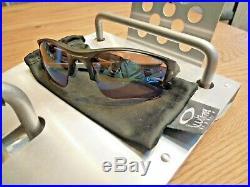 OAKLEY FLAK JACKET XLJ GOLF Custom Sunglasses half fast bottlecap