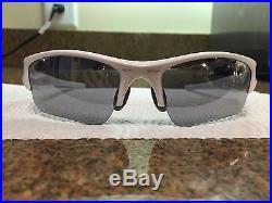 Flak Jacket Oakley 2016 Glasses White Frame Colorful Lens