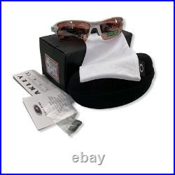 OAKLEY Flak 2.0 Sunglasses Prizm Dark Golf Lenses Authentic Box and Cases